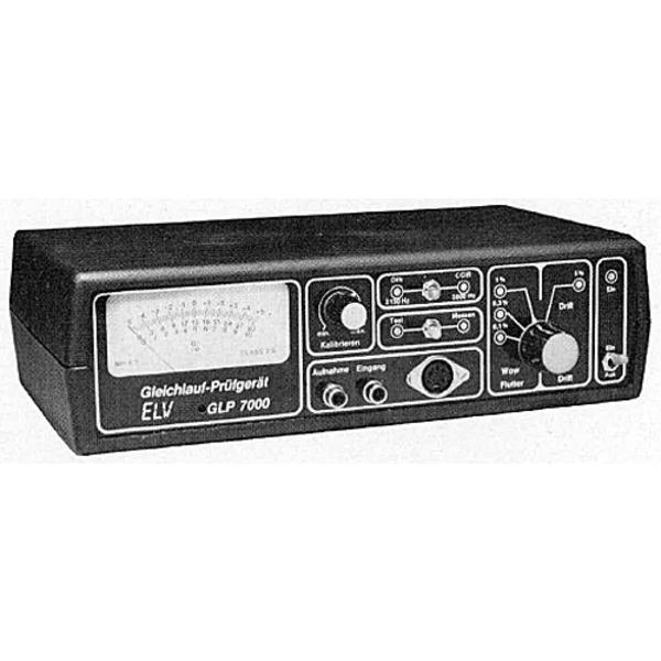 ELV-Serie 7000: Gleichlaufprüfgerät GLP 7000