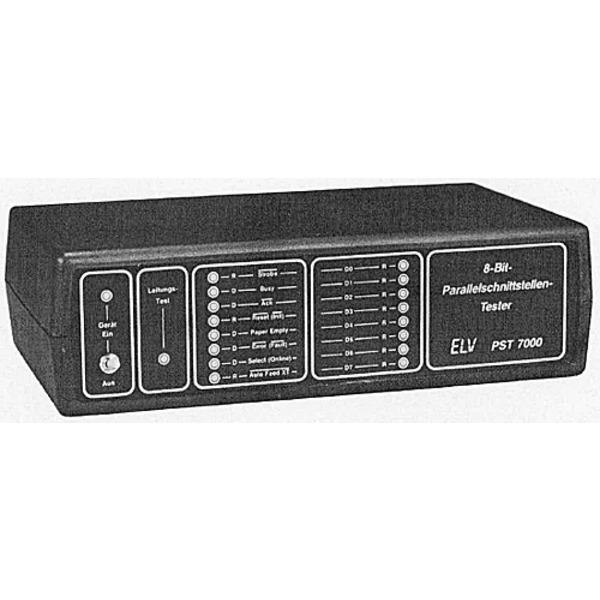 ELV-Serie 7000: Centronics-Schnittstellentester - 8-Bit-Parallelschnittstellentester PST 7000