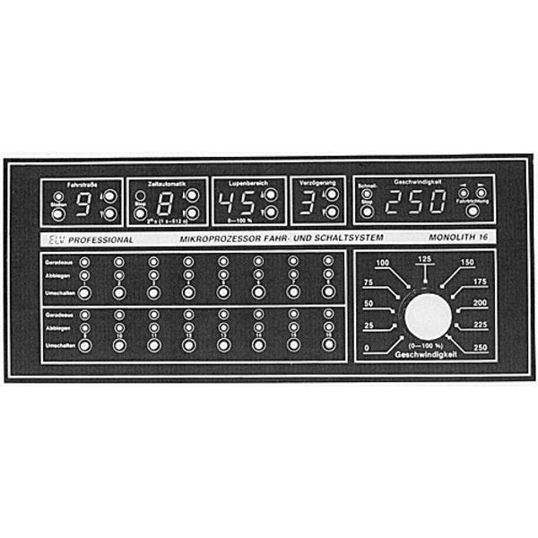 ELV-Serie Modellbahn-Elektronik: Mikroprozessor-Fahr- und Schaltsystem Monolith 16 Teil 2/4: Für Gle
