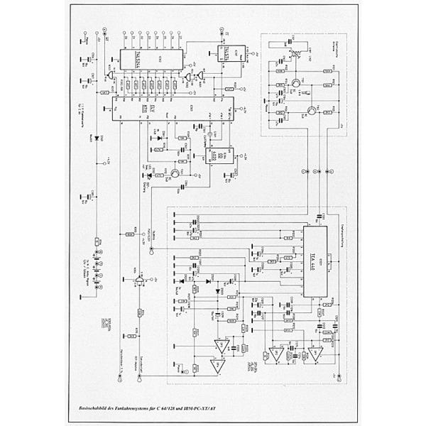 Funkuhrensystem für C 64/128 und IBM-PC-XT/AT Teil 1/4