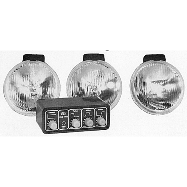 Niedervolt-Lichtorgel NVL 1000