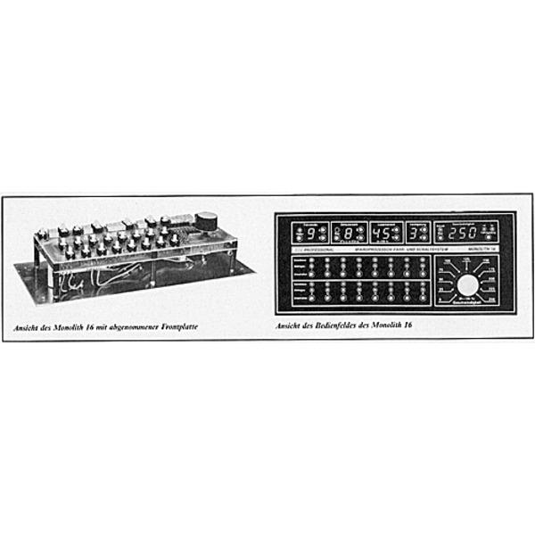ELV-Serie Modellbahn-Elektronik: Mikroprozessor-Fahr- und Schaltsystem Monolith 16 Teil 4/4: Bedienu