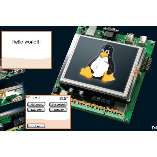 LINUX-Control-Unit LCU1 - Benutzeroberfläche selbst erstellen Teil 1b/4