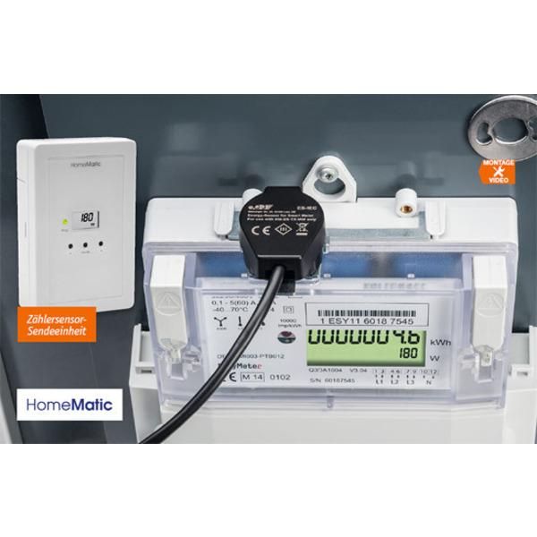 Energieverbrauch im Blick - Energie-Sensor für Smart Meter