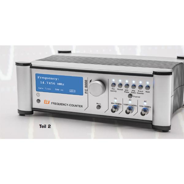 2,4-GHz-Universalzähler mit TCXO - Frequenzzähler FC 8000 Teil 2