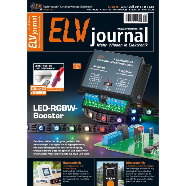 ELVjournal Ausgabe 3/2016 Digital (PDF)