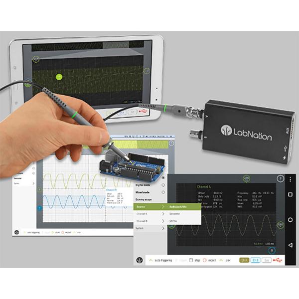 SmartScope - Oszilloskop, Logikanalysator und Signalgenerator