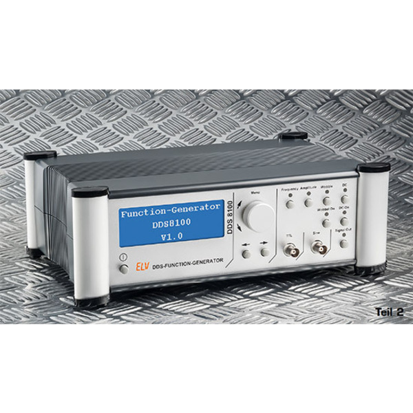 Bis 100 MHz - DDS-Funktionsgenerator DDS 8100 Teil 2