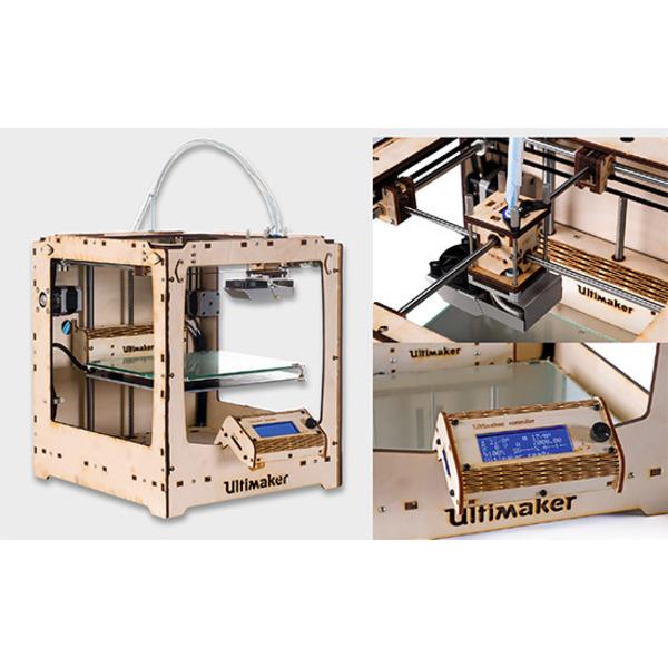 3D aus dem Holzbaukasten - Ultimaker Original Plus