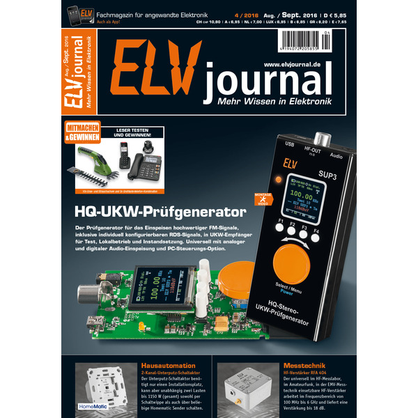 ELVjournal Ausgabe 4/2016 Digital (PDF)