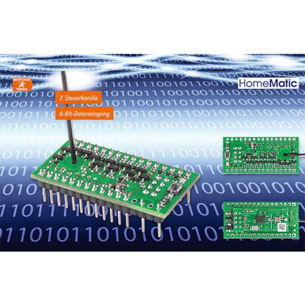 Steuern und Daten übertragen - HomeMatic Funk-Sendemodul 8 Bit