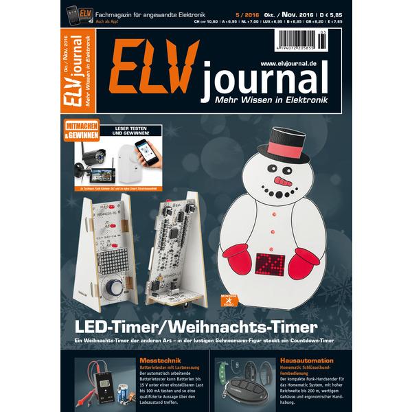 ELVjournal Ausgabe 5/2016 Digital (PDF)
