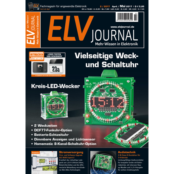 ELVjournal Ausgabe 2/2017 Digital (PDF)