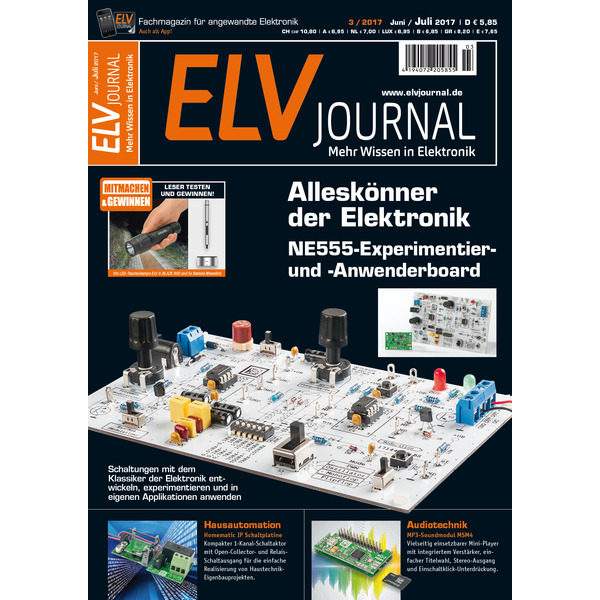 ELVjournal Ausgabe 3/2017 Digital (PDF)