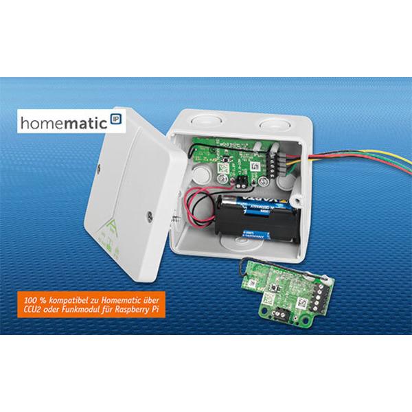 Homematic IP ganz flexibel - Schaltplatine HmIP-PCBS-BAT für Batteriebetrieb