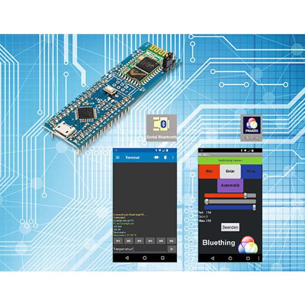 Bluething Board - Datenübertragung per Bluetooth zwischen Arduino Nano und Smartphone, PC oder einem