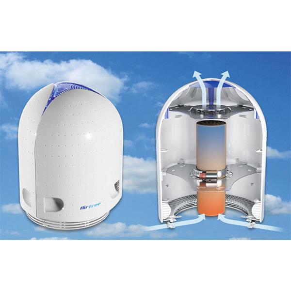 """Luftschadstoffe lautlos beseitigt - Thermodynamischer Luftreiniger """"Airfree"""""""