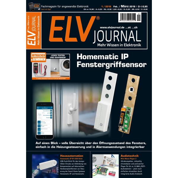 ELVjournal Ausgabe 1/2018 Digital (PDF)