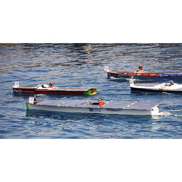 Mit Sonnenlicht zum Erfolg: Das Solarboot der Hochschule Emden/Leer