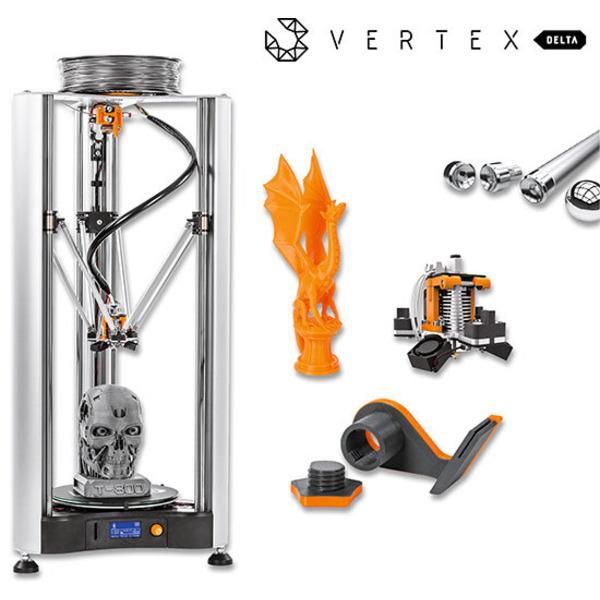 Groß, schnell, präzise - 3D-Drucker Vertex Delta