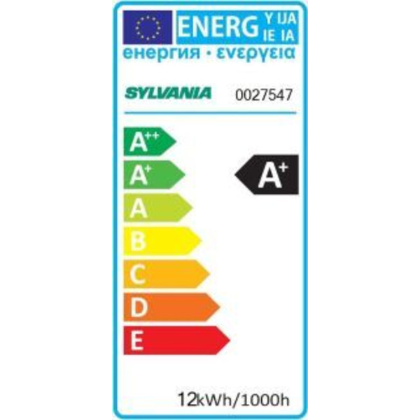 Sylvania 12-W-Sensor-LED-Lampe E27, warmweiß