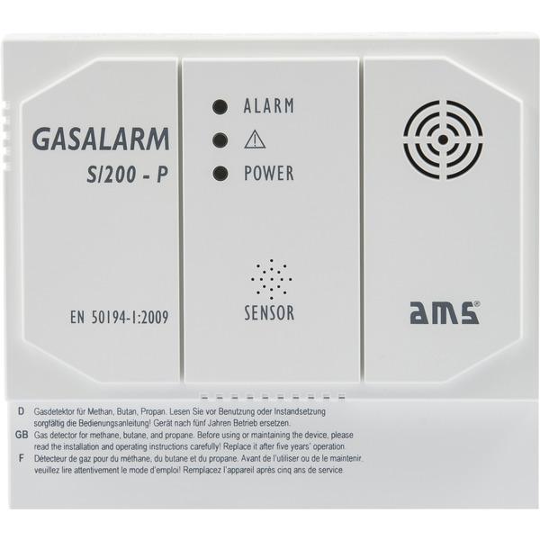 AMS S/200-P Gasmelder mit Schaltkontakt