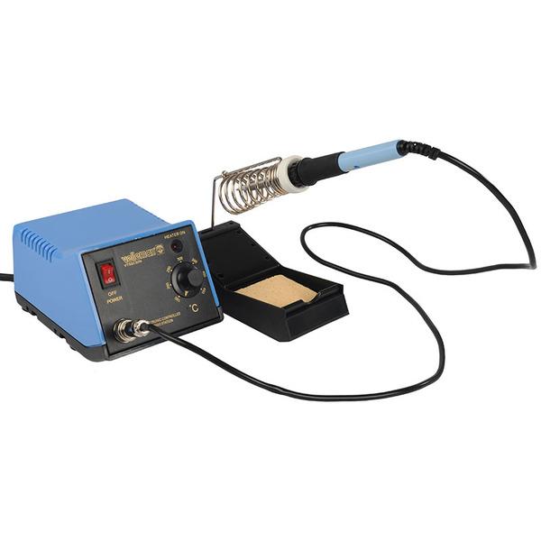 Velleman 48W-Lötstation VTSSC50N mit keramischem Heizelement und analoger Temperatureinstellung