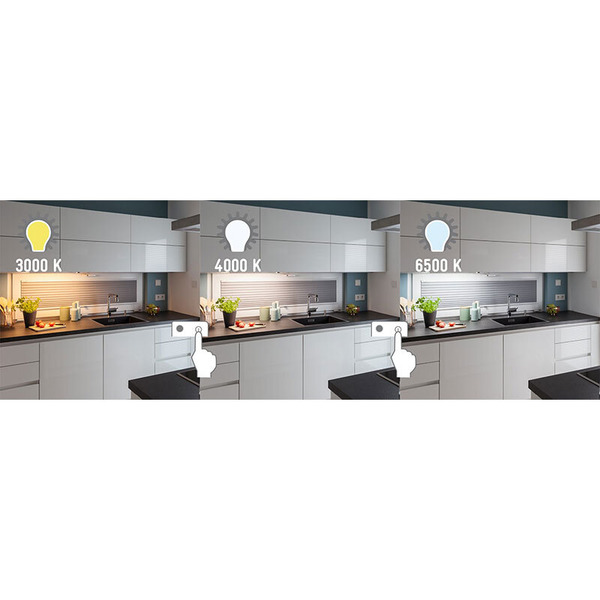 Müller Licht 8-W-LED-Unterbauleuchte, dimmbar, Farbtemperatur einstellbar