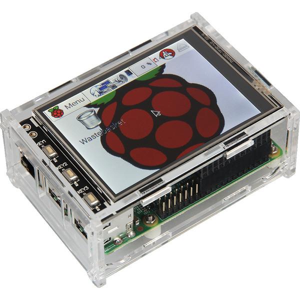 """Raspberry Pi 3B+ Touch-PC, 8,9 cm (3,5"""") Display, komplett montiert und betriebsbereit"""
