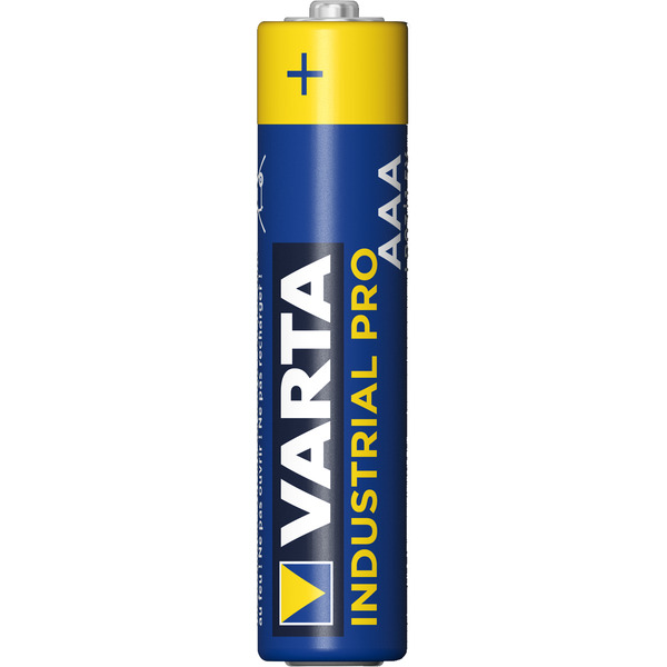 Varta Industrial PRO 10er-Set Micro/AAA