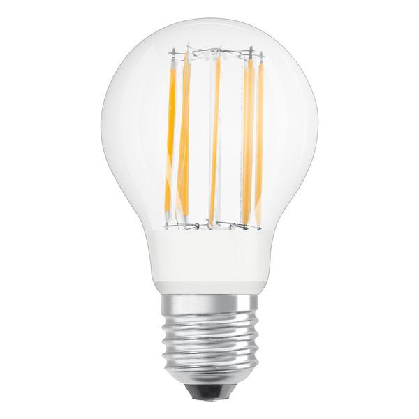 OSRAM LED SUPERSTAR RETROFIT 9-W-Filament-LED-Lampe E27, warmweiß, klar, dimmbar