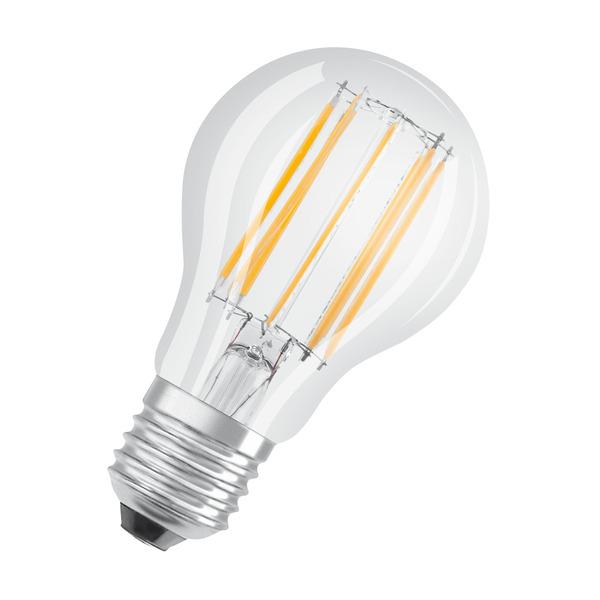 OSRAM LED STAR 10-W-Filament-LED-Lampe E27, neutralweiß,klar