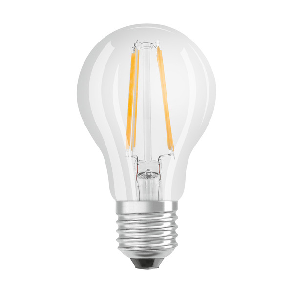 OSRAM LED STAR Plus 7-W-LED-Lampe E27, warmweiß, dimmbar per Lichtschalter