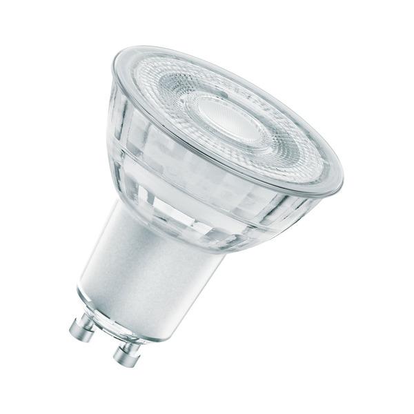 OSRAM LED STAR Plus 4,5-W-GU10-LED-Lampe 36°, warmweiß, dimmbar (GLOWdim)