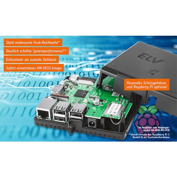 Leistungsstarke Zentrale - Mit der Funk-Modulplatine RPI-RF-MOD
