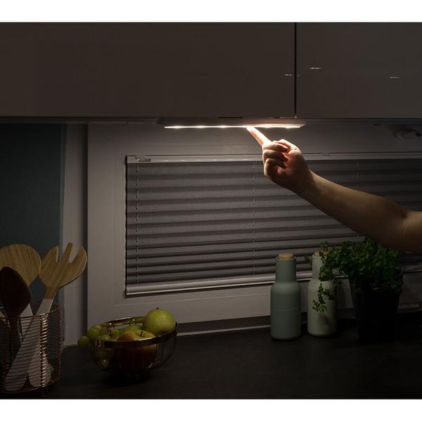 Müller Licht Akku-LED-Leuchte mit Push-Schalter, neutralweiß, 200 lm Lichtstrom
