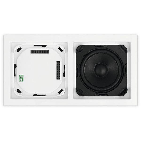 TechniSat Unterputzradio DigitRadio UP 1, DAB+/UKW-Radio, Bluetooth, mit Lautsprecher, schwarz