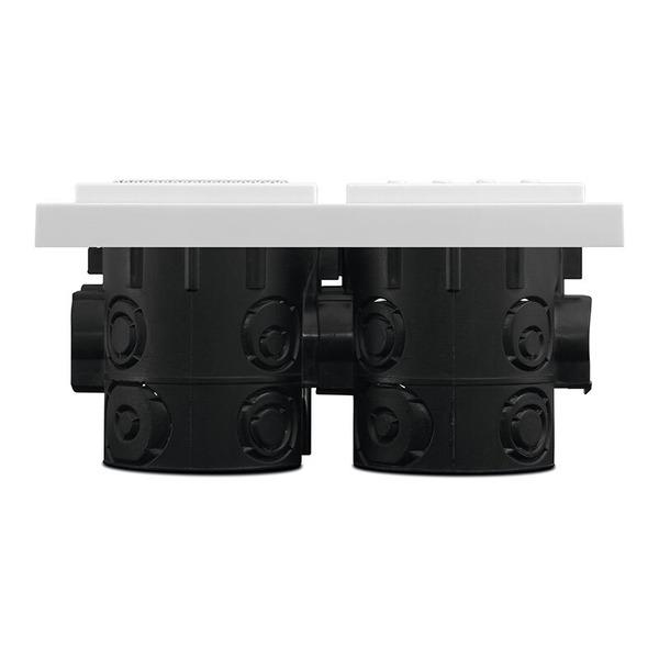 TechniSat Unterputzradio DigitRadio UP 1, DAB+/UKW-Radio, Bluetooth, mit Lautsprecher, weiß