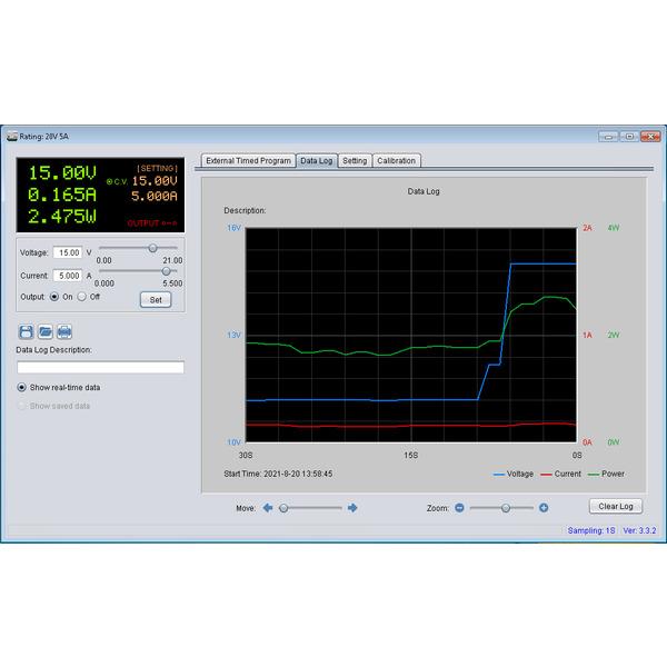 Manson Labornetzgerät NTP-6531, 1–36 VDC, 0,25–3 A