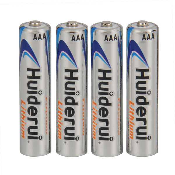 Huiderui Lithium Batterie Micro AAA, 4er Pack