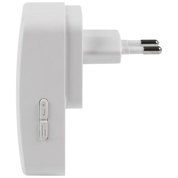 ELV Funk-Gong-Set E1 mit batterielosem Klingeltaster mit Namenschild (V3.0), erweiterbar