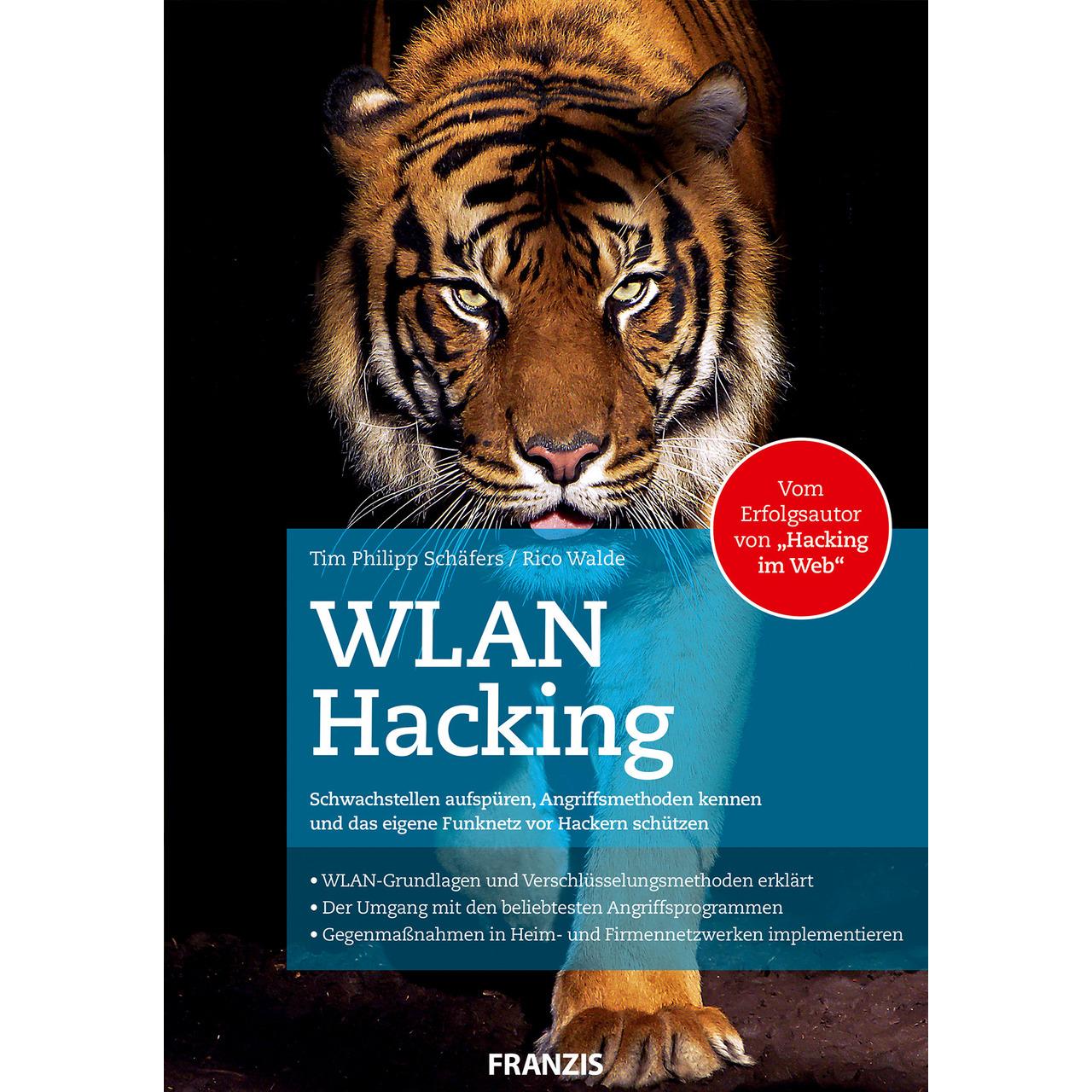 FRANZIS Fachbuch WLAN-Hacking- 512 Seiten