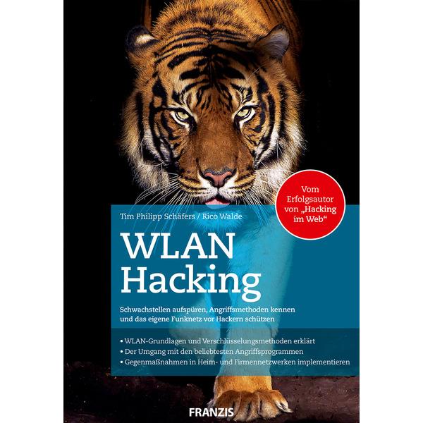 FRANZIS Fachbuch WLAN-Hacking, 512 Seiten