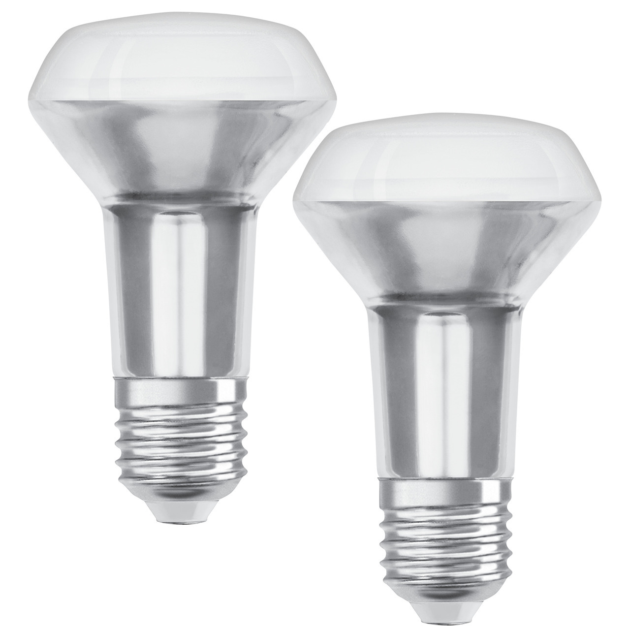 OSRAM 2er Pack 4-37-W-R63-LED-Reflektorlampen E27- warmweiss- 36-
