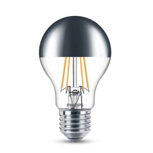 Philips 7,2-W-LED-Spiegelkopflampe E27, dimmbar, warmweiß