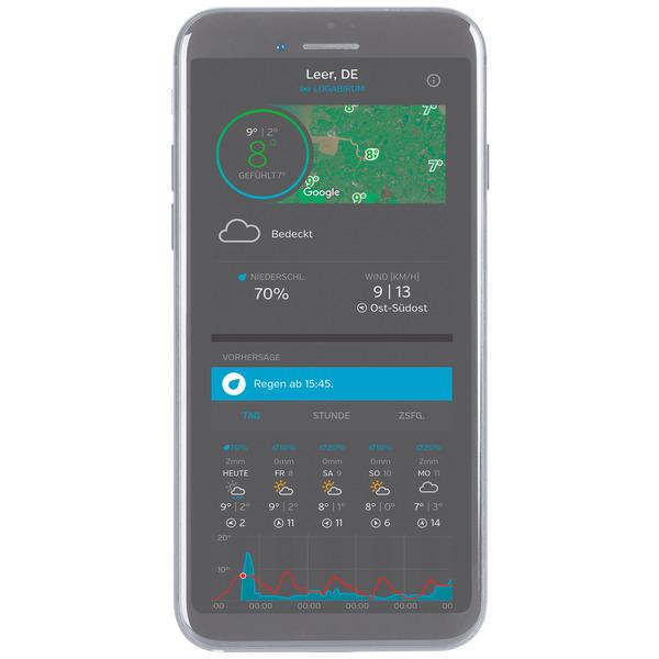 ELV WiFi-Wetterstation WS980WiFi, inkl. Funk-Außensensor (868 MHz), App, PC-Auswertesoftware