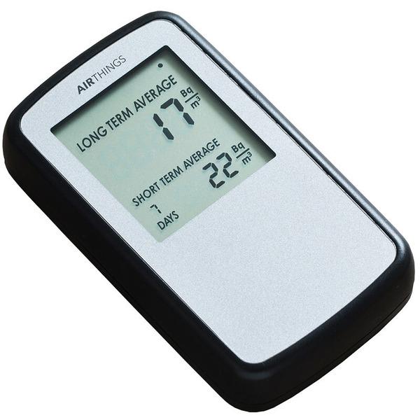 Airthings Radon-Messgerät / Radon-Monitor Corentium Home, Batteriebetrieb