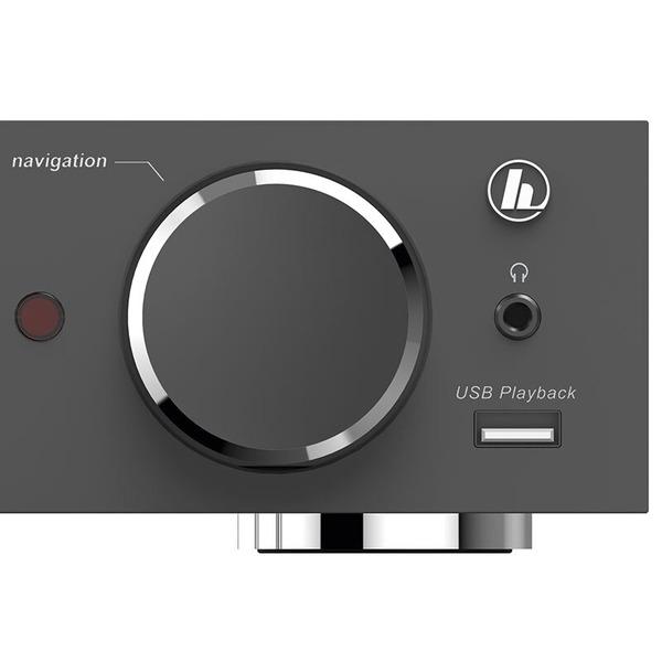 hama Radio-Hi-Fi-Tuner DIT2100MSBT, DAB+/UKW/Internetradio, USB, Bluetooth, Spotify