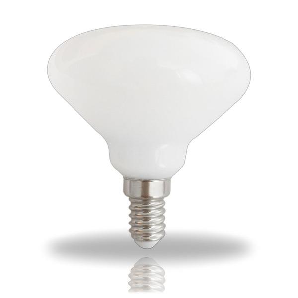 LEDmaxx 4-W-R70-LED-Lampe E14, warmweiß, dimmbar, 320 lm