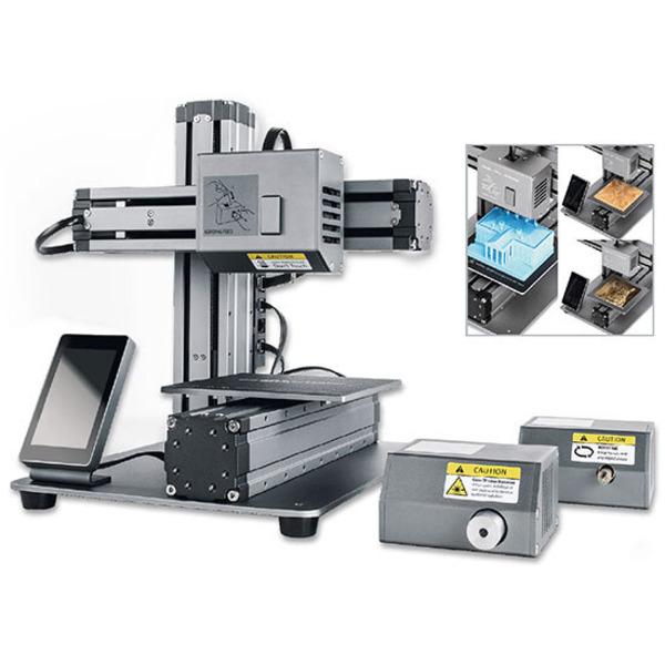 kompakte multifunktionsmaschine snapmaker 3 in 1 cnc fr se 3d drucker laser cutter